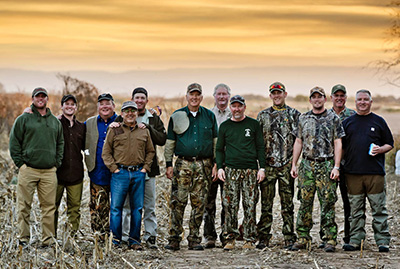 Dove Hunting in Argentina - Group Pictures of Dove Hunters