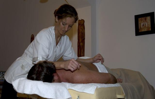 Relaxing Massage at the Los Chanares Lodge